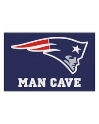 NFL New England Patriots Man Cave Starter Rug 19x30 by