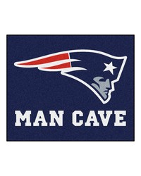 NFL New England Patriots Man Cave Tailgater Rug 60x72 by