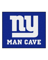 NFL New York Giants Man Cave Tailgater Rug 60x72 by