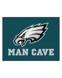 NFL Philadelphia Eagles Man Cave AllStar Mat 34x45 by