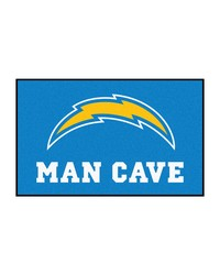 NFL San Diego Chargers Man Cave UltiMat Rug 60x96 by