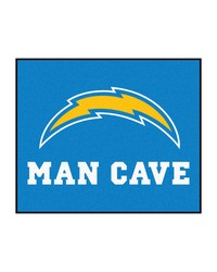 NFL San Diego Chargers Man Cave Tailgater Rug 60x72 by