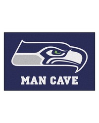 NFL Seattle Seahawks Man Cave Starter Rug 19x30 by