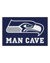NFL Seattle Seahawks Man Cave UltiMat Rug 60x96 by