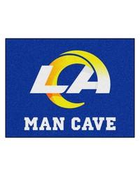 NFL St. Louis Rams Man Cave AllStar Mat 34x45 by