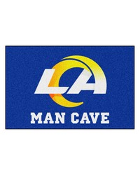 NFL St. Louis Rams Man Cave Starter Rug 19x30 by
