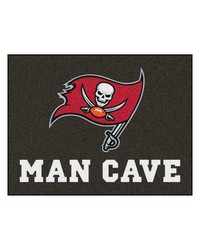 NFL Tampa Bay Buccaneers Man Cave AllStar Mat 34x45 by