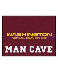 NFL Washington Redskins Man Cave AllStar Mat 34x45 by