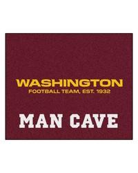 NFL Washington Redskins Man Cave Tailgater Rug 60x72 by