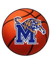 Memphis Basketball Mat 26 diameter  by