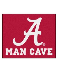 Alabama Man Cave Tailgater Rug 60x72 by