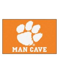 Clemson Man Cave Starter Rug 19x30 by