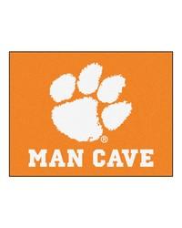 Clemson Man Cave AllStar Mat 34x45 by