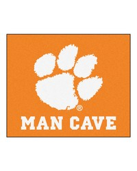 Clemson Man Cave Tailgater Rug 60x72 by