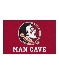 Florida State Man Cave Starter Rug 19x30 by