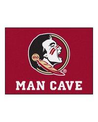 Florida State Man Cave AllStar Mat 34x45 by
