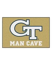 Georgia Tech Man Cave Starter Rug 19x30 by