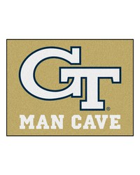 Georgia Tech Man Cave AllStar Mat 34x45 by