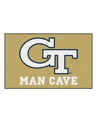 Georgia Tech Man Cave UltiMat Rug 60x96 by