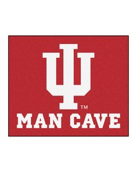 Indiana Man Cave Tailgater Rug 60x72 by