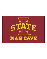 Iowa State Man Cave Starter Rug 19x30 by