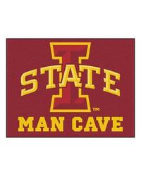 Iowa State Man Cave AllStar Mat 34x45 by