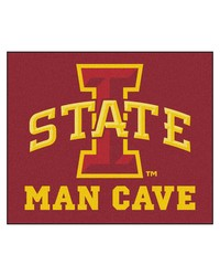 Iowa State Man Cave Tailgater Rug 60x72 by