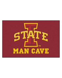 Iowa State Man Cave UltiMat Rug 60x96 by