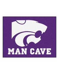 Kansas State Man Cave AllStar Mat 34x45 by