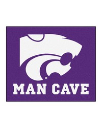 Kansas State Man Cave Tailgater Rug 60x72 by