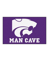 Kansas State Man Cave UltiMat Rug 60x96 by