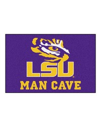 Louisiana State Man Cave Starter Rug 19x30 by