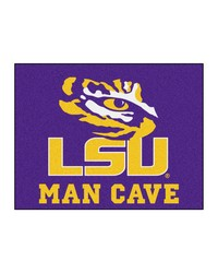 Louisiana State Man Cave AllStar Mat 34x45 by