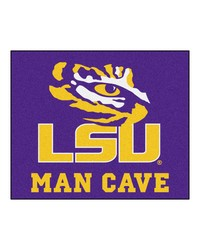 Louisiana State Man Cave Tailgater Rug 60x72 by