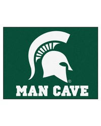 Michigan State Man Cave AllStar Mat 34x45 by