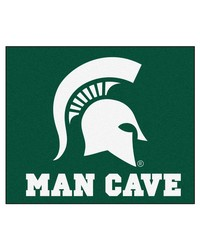 Michigan State Man Cave Tailgater Rug 60x72 by