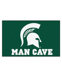 Michigan State Man Cave UltiMat Rug 60x96 by