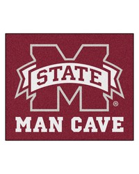 Mississippi State Man Cave Tailgater Rug 60x72 by
