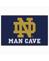 Notre Dame Man Cave Starter Rug 19x30 by