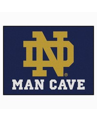 Notre Dame Man Cave All-Star Mat 34x45 by