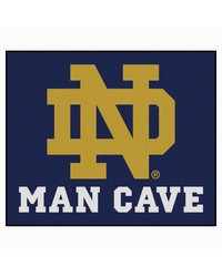 Notre Dame Man Cave Tailgater Rug 60x72 by