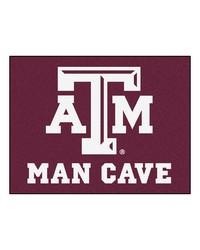 Texas AM Man Cave AllStar Mat 34x45 by