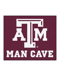 Texas AM Man Cave Tailgater Rug 60x72 by