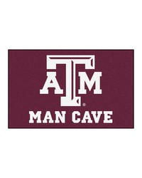 Texas AM Man Cave UltiMat Rug 60x96 by