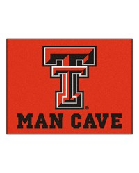 Texas Tech Man Cave AllStar Mat 34x45 by