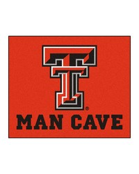 Texas Tech Man Cave Tailgater Rug 60x72 by