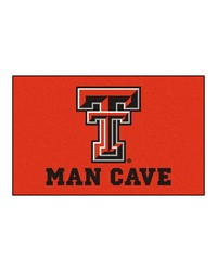 Texas Tech Man Cave UltiMat Rug 60x96 by