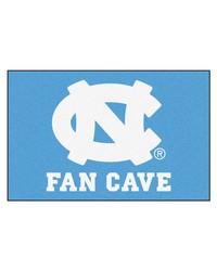 UNC Chapel Hill Fan Cave Starter Rug 19x30 by