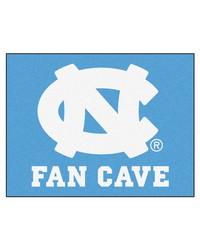UNC Chapel Hill Fan Cave AllStar Mat 34x45 by
