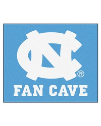 UNC Chapel Hill Fan Cave Tailgater Rug 60x72 by